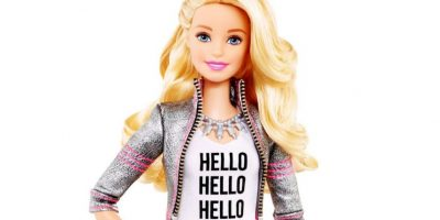 """Hello Barbie"" responde con voz al estilo de Siri o Cortana. Foto:Mattel"