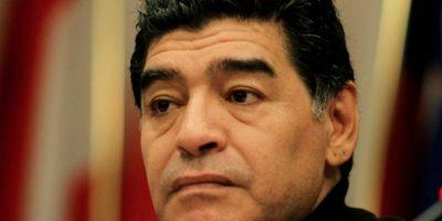 Maradona no puede llevar una vida tranquila. Foto:Getty Images