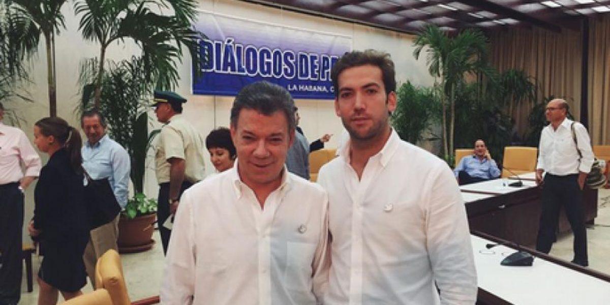 Tremenda fiesta la de Martín Santos, uno de los hijos del presidente