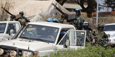 Es la primera vez que un Papa visita un país en guerra, al menos durante los últimos pontificados Foto:AP