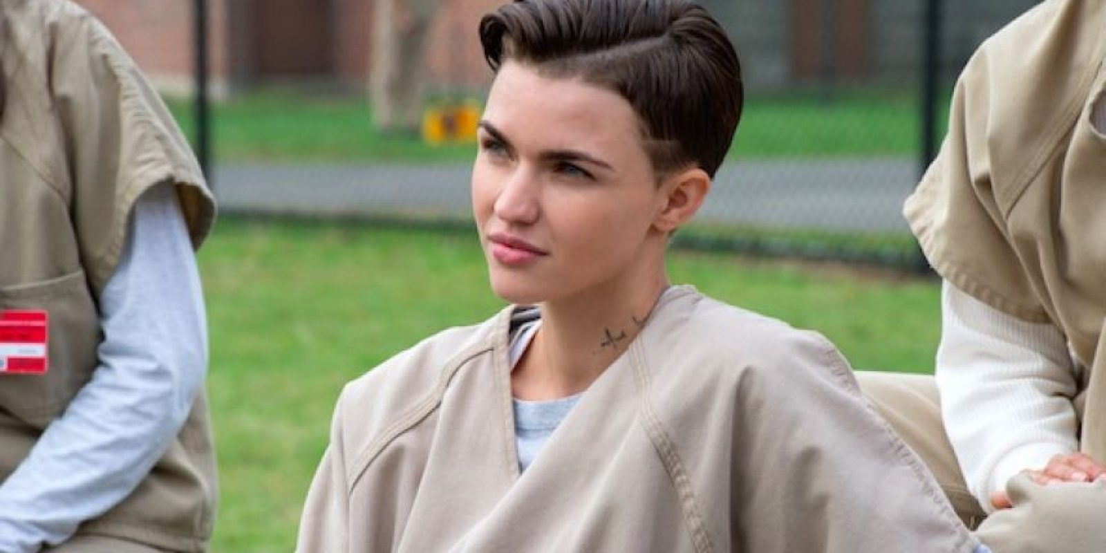 "Ruby Rose interpreta a ""Stella Carlin"" en la serie ""Orange is the New Black"" Foto: Netflix"