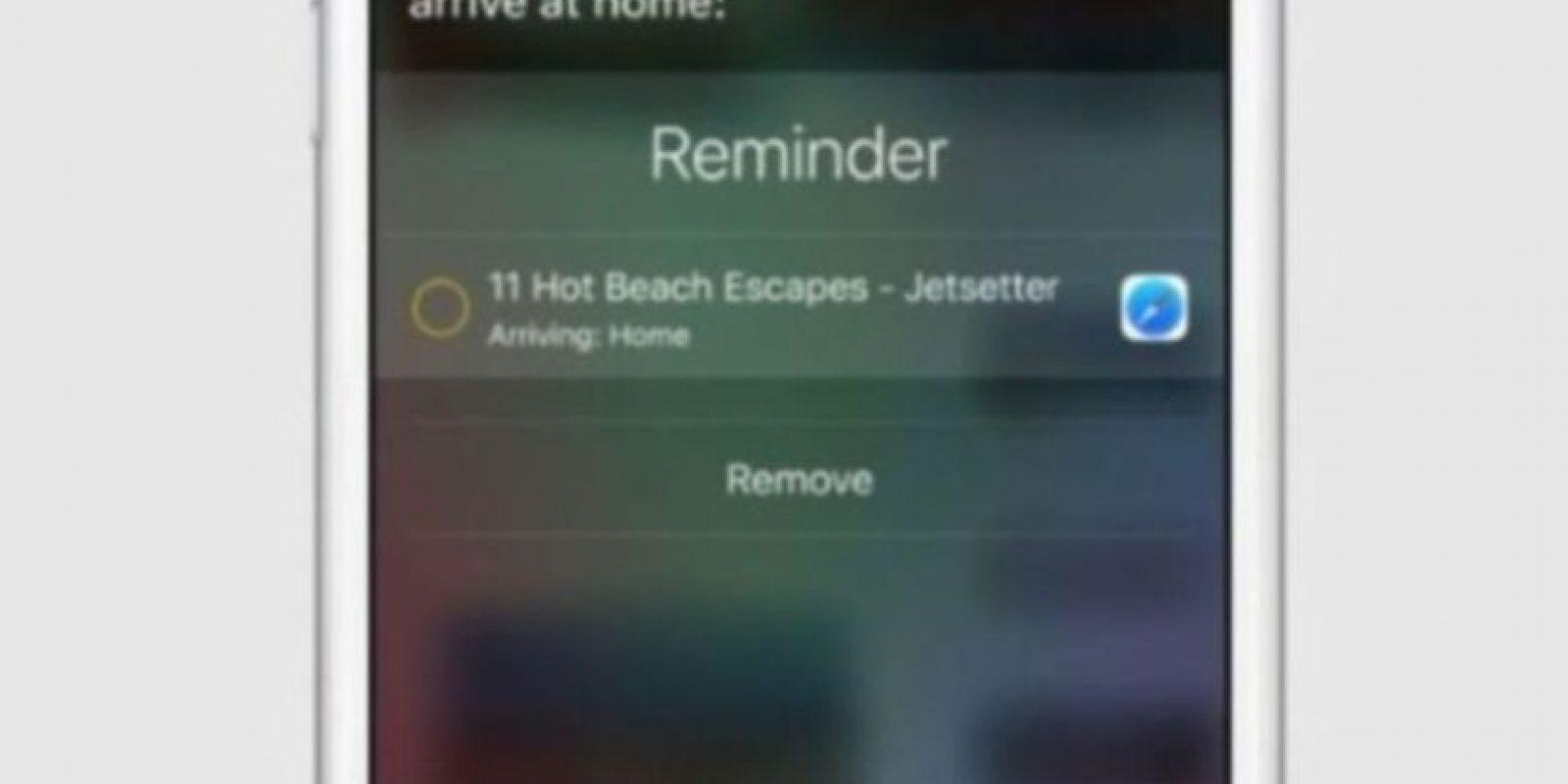 Mejor reconocimiento de voz en el celular y mejor sincronización entre Siri y las app. Foto:Apple