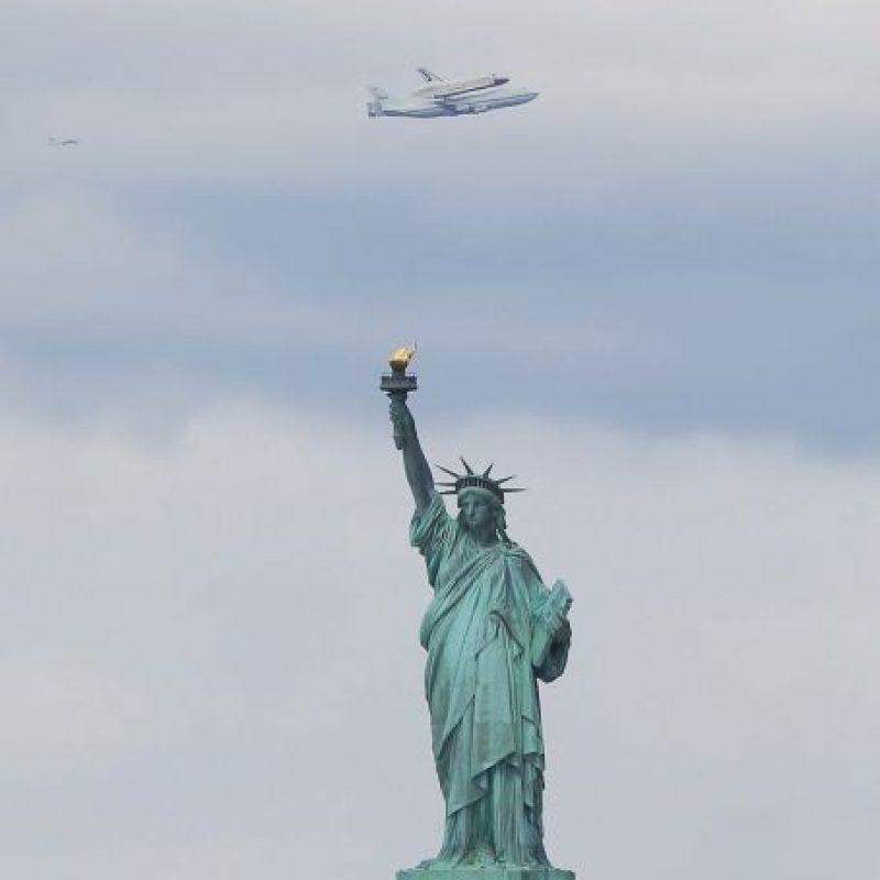 Fue concebida como reconocimiento a la oportunidad que Estados Unidos significaba para los migrantes europeos Foto:Getty Images