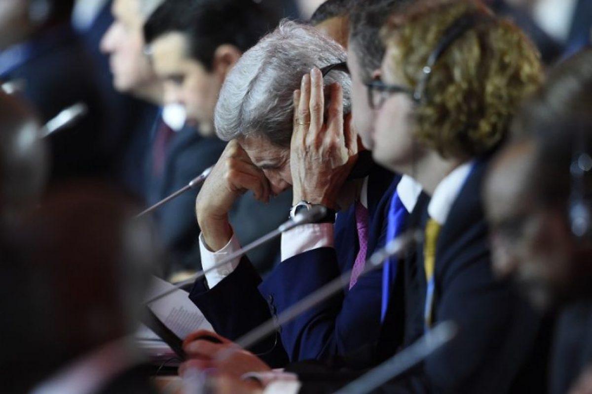 Como John Kerry, secretario de Estado de Estados Unidos Foto:AFP