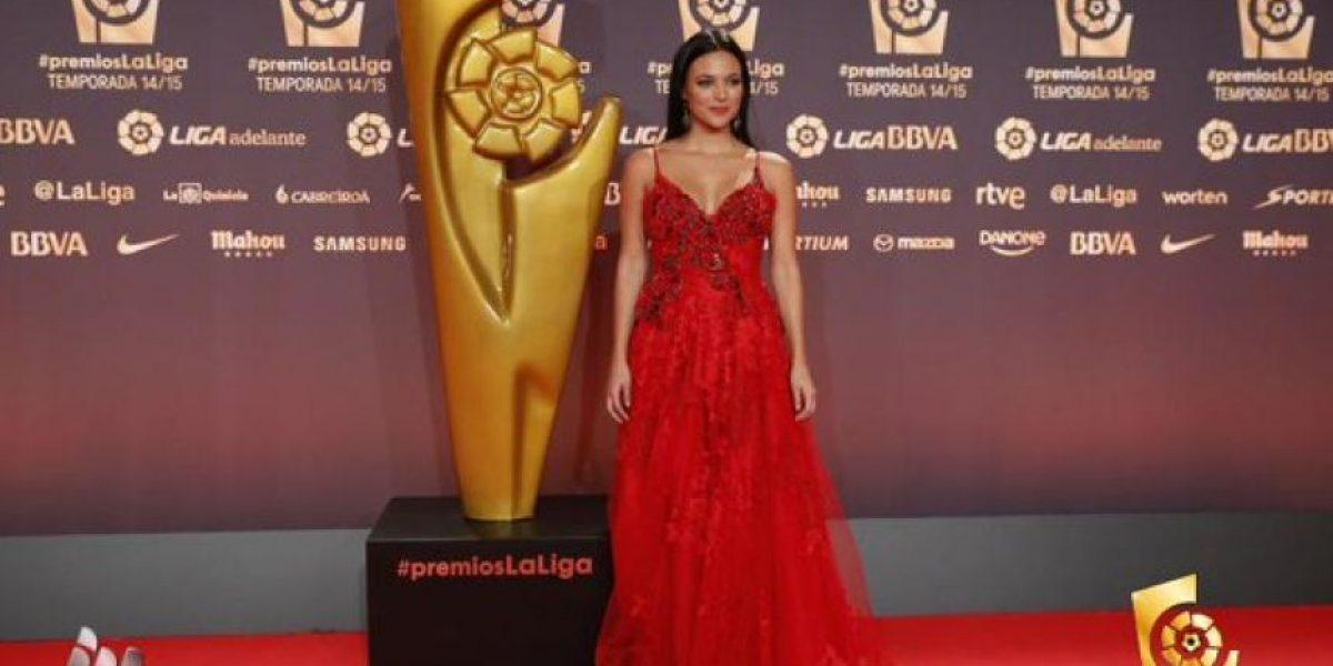 Fotos: Elisa Mouliaá, la presentadora que se robó el show en los premios La Liga