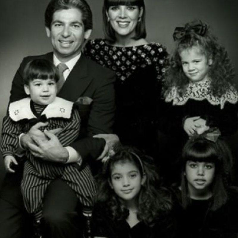 En 1978, el abogado Robert Kardashian y la empresaria Kristen Mary Houghton iniciaron una familia Foto:vía instagram.com/krisjenner