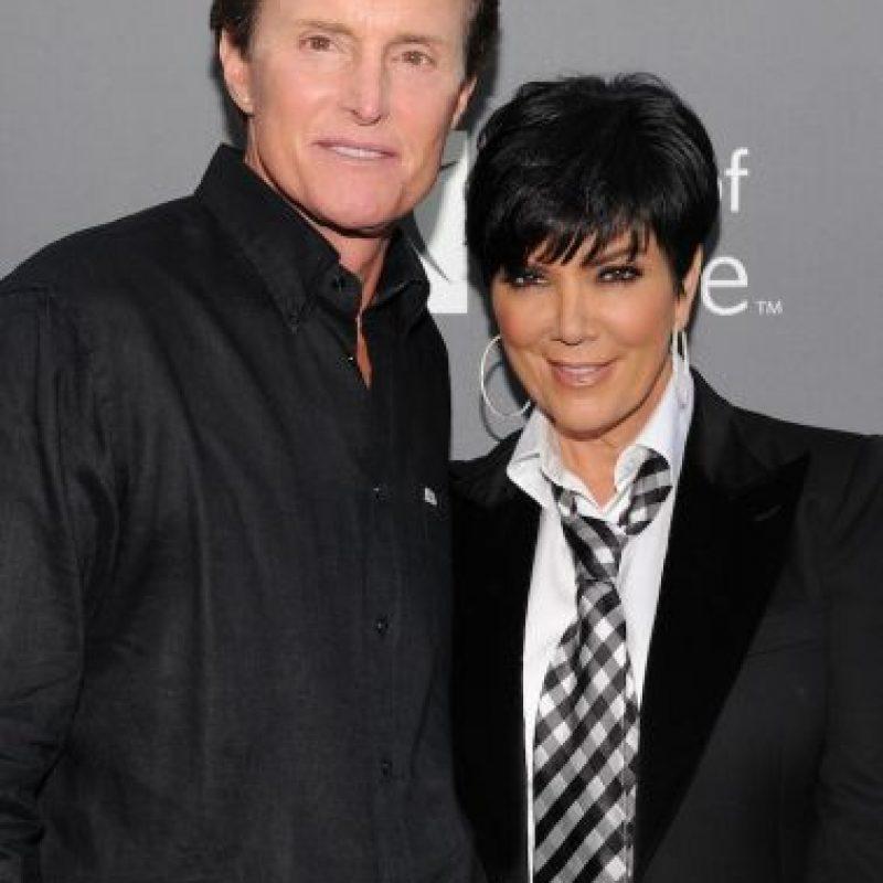 Ese mismo año, Kris se casó con Bruce Jenner. Foto:Getty Images