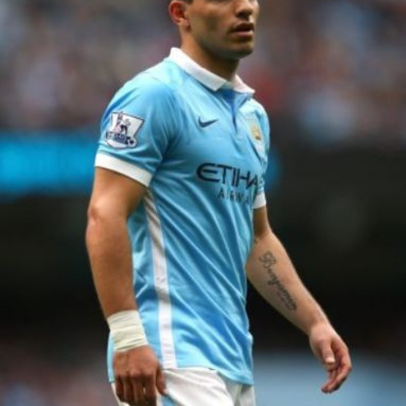 1. Sergio Agüero (Manchester City/Argentina). Foto: Getty Images