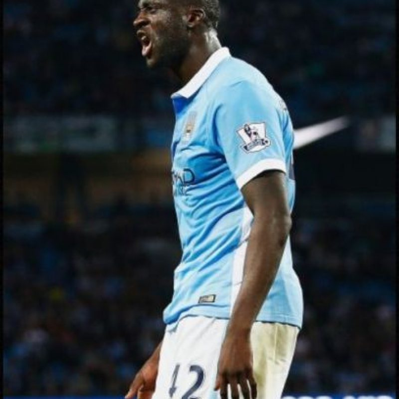 13. Yayá Touré (Manchester City/Costa de Marfil). Foto: Getty Images
