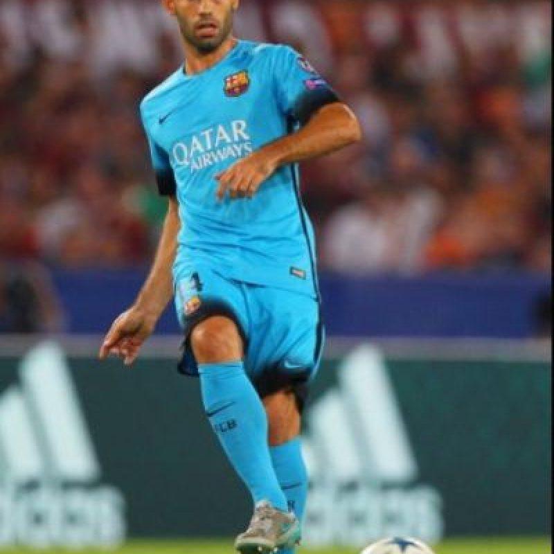 14. Javier Mascherano (Barcelona/Argentina). Foto:Getty Images