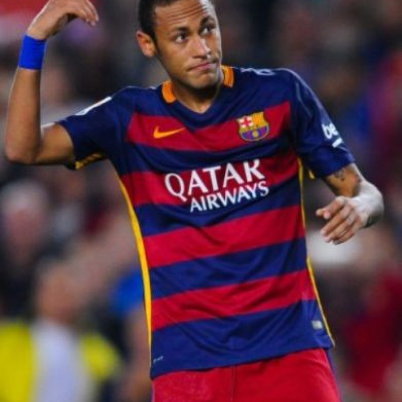 19. Neymar (Barcelona/Brasil). Foto: Getty Images