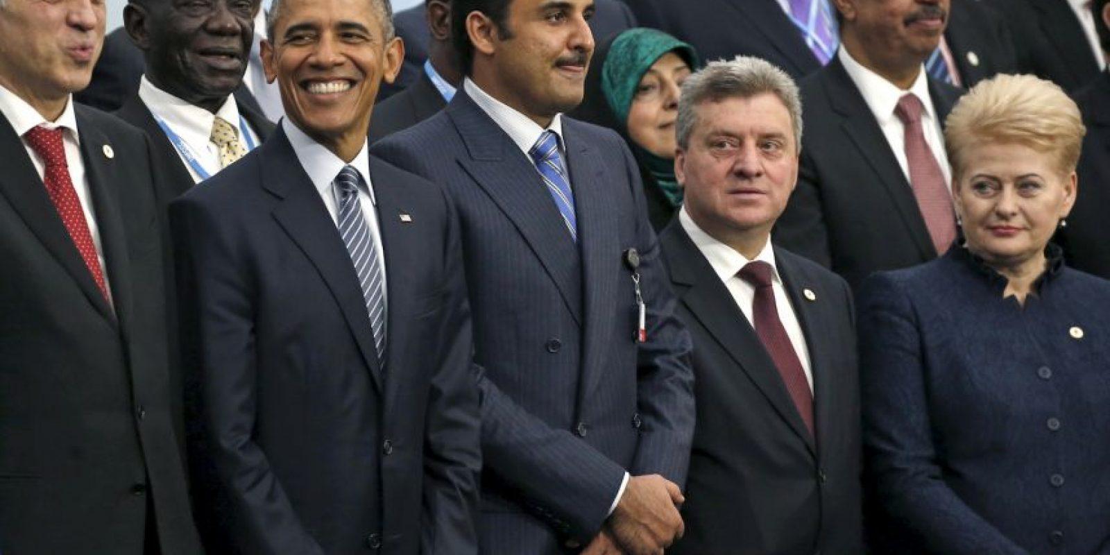 Más de 150 líderes mundiales están reunidos en París para luchar contra el Cambio Climático Foto:AP