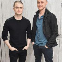 Daniel Radcliffe y James McAvoy Foto:Getty Images