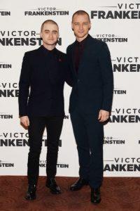 """Los británicos visitaron la Ciudad de México para promocionar su más reciente cinta """"Victor Frankenstein"""" Foto:Getty Images"""