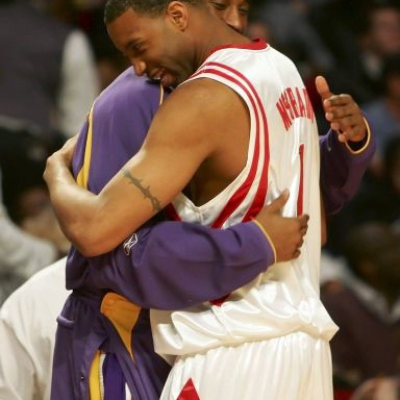 2006, con Tracy McGrady Foto: Getty Images