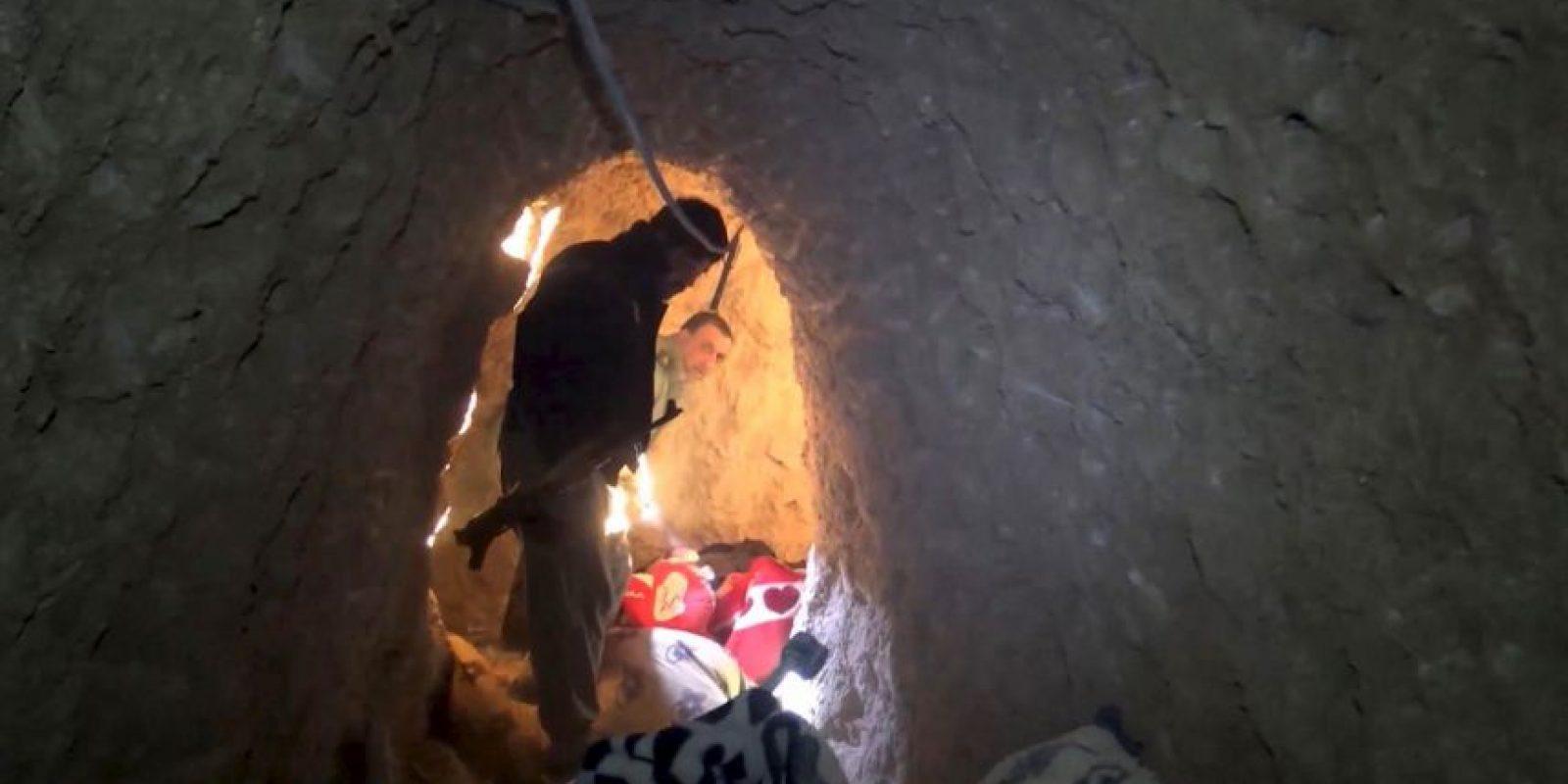 La conexión de los túneles les permitía moverse de un edificio a otro. Foto:AP