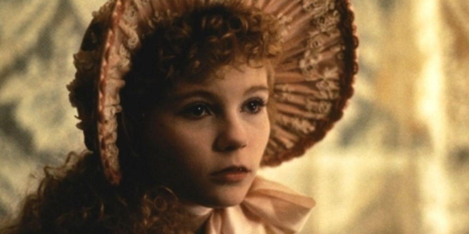 """Cómo no acordarse de su primer gran papel en """"Entrevista con el Vampiro"""", en el que interpretó a la atormentada vampiresa Claudia. Foto:vía Warner Bros"""
