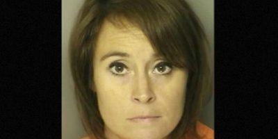 Ann Hope, profesora de Carolina del Sur, fue arrestada por tener relaciones con un exestudiante de secundaria Foto:J. Reuben Long Detention Center