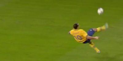 Zlatan Ibrahimovic ganó el Premio Puskás de 2013 Foto:FIFA
