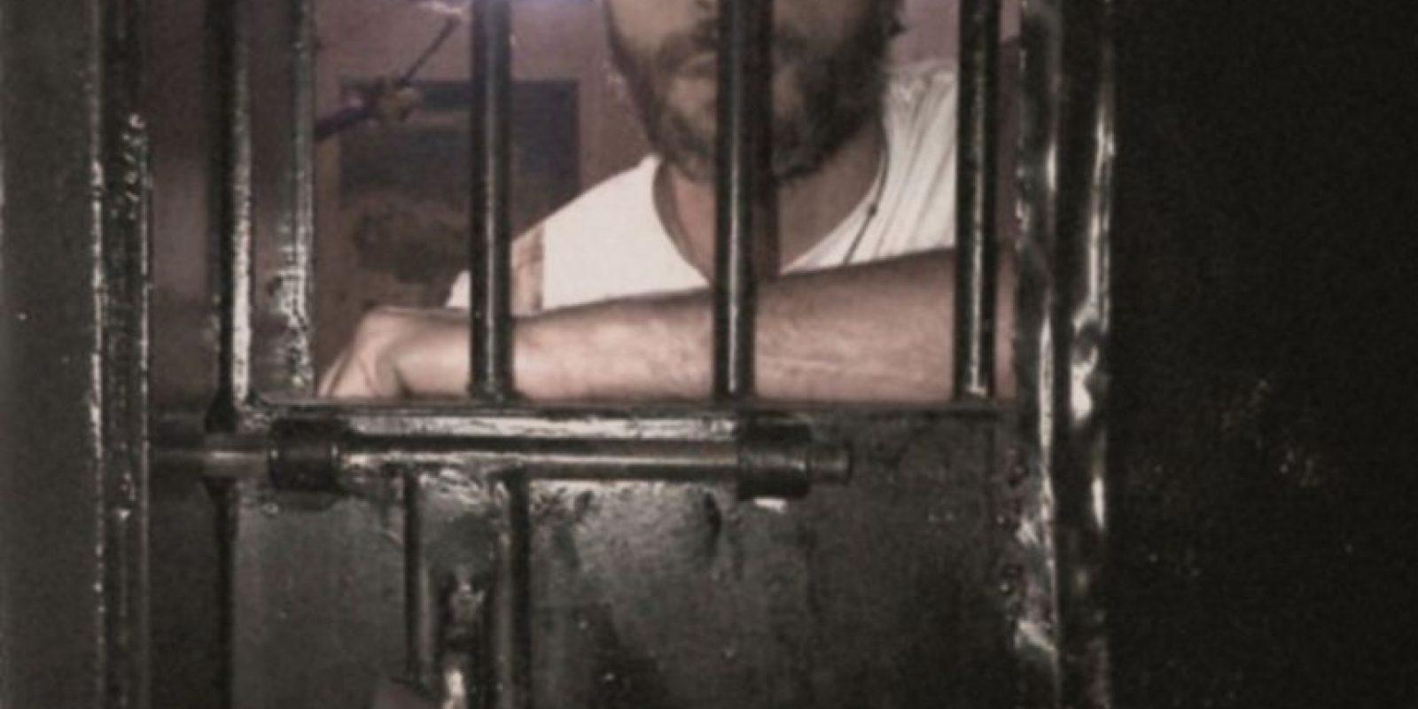 Leopoldo López fue condenado a 13 años de prisión en septiembre, acusado de organizar las manifestaciones de febrero de 2014, que dejaron como saldo 43 muerto Foto:AFP