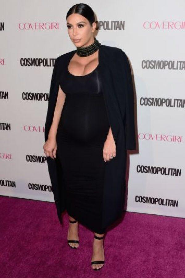 Incluso comenzó a vestir de negro para disimular su crecimiento. Foto:Getty Images