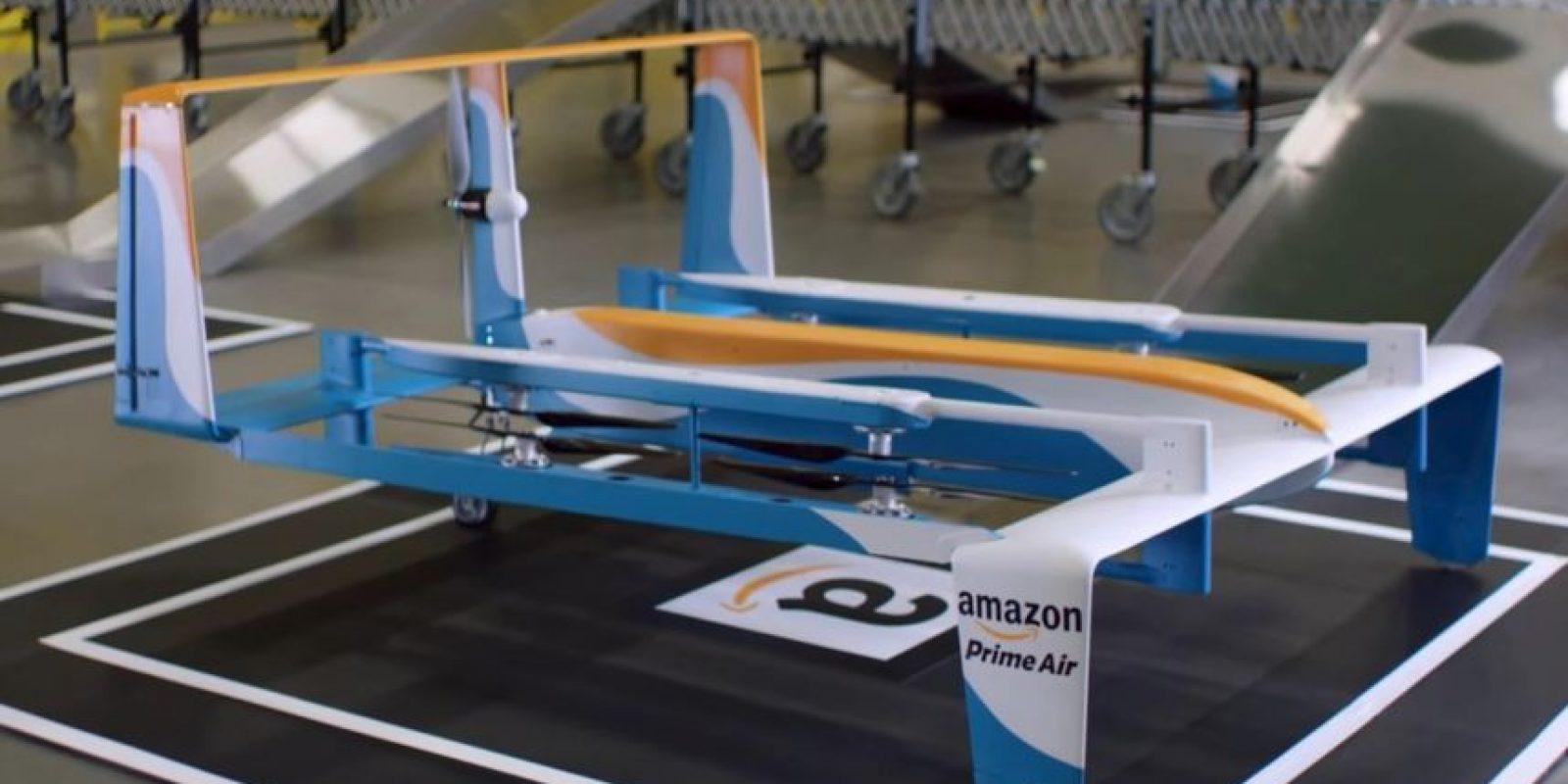 Amazon Prime Air hará que las entregas de productos sean rápidas. Foto:Amazon