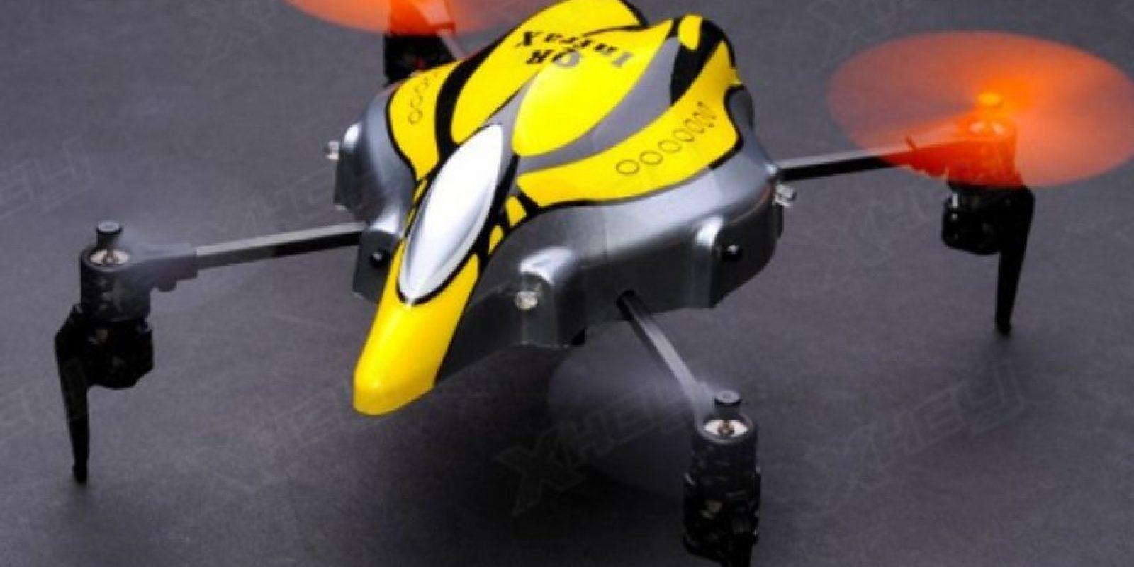 Walkera QR sobresale por su diseño que aparenta un insecto volador. Foto:vía webadictos.com
