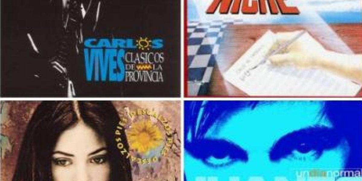 Cuatro discos colombianos, entre los 50 grandes álbumes latinos según Billboard