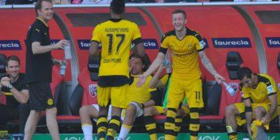 En gran parte, el éxito del Borussia se debe a Reus y Aubameyang, los grandes amigos de la Bundesliga Foto:Getty Images