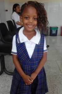 Kinary Andrea Góngora, niña de seis años asesinada en su casa, en el oriente de Cali. Foto:Especial para Publimetro