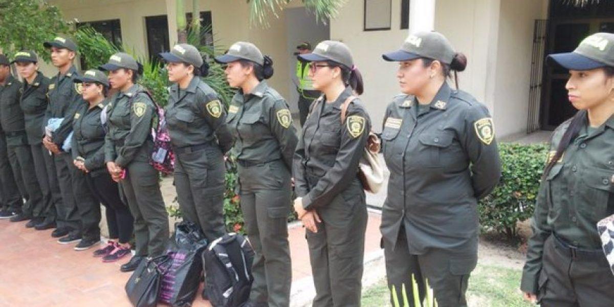 8 barranquilleras fueron policías por un día