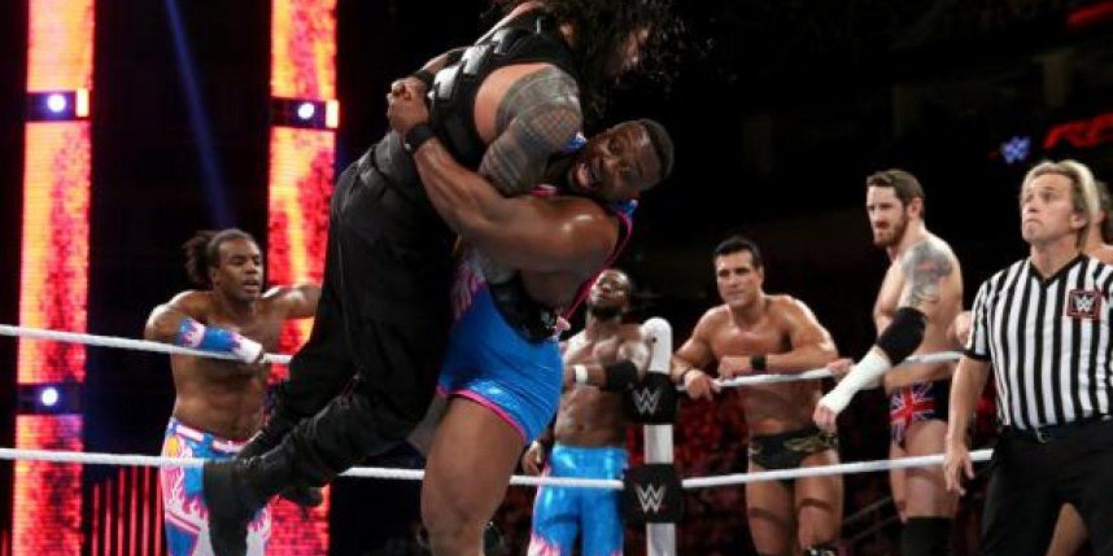 Vencieron a Roman Reigns, Dean Ambrose y The Usos Foto:WWE