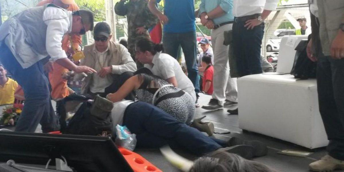 Germán Vargas Lleras sufre desmayo en Bucaramanga