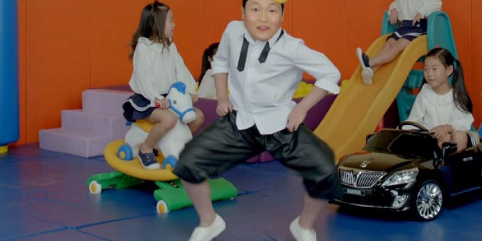 'Daddy', lo nuevo PSY, el del Gangnam Style Foto:Tomada de Youtube