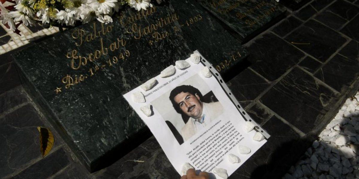 Fotos: La tumba de Pablo Escobar, a 22 años de su muerte