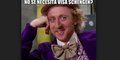 Los mejores memes de la eliminación de la visa Schengen Foto:Tomada de Twitter