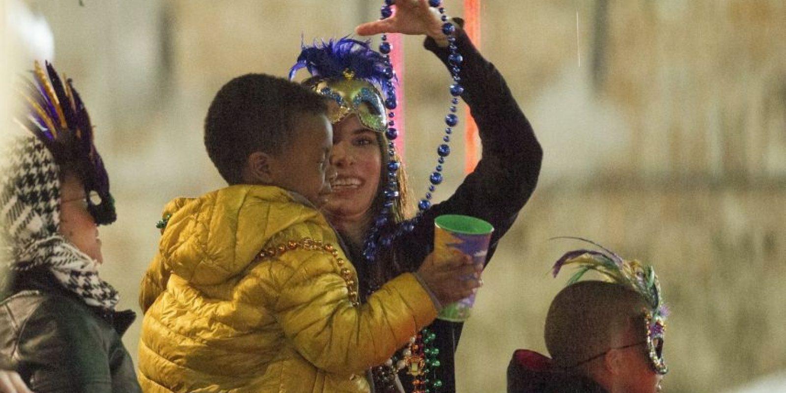 Y una hermanita con la que pasa divertidos momentos. Foto:The Grosby Group