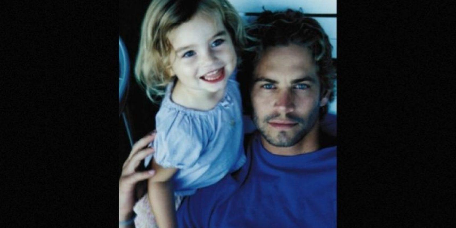 Su hija, Meadow, vivía con él desde 2011 y acababa de cumplir 15 años. Foto:Instagram/meadowwalker