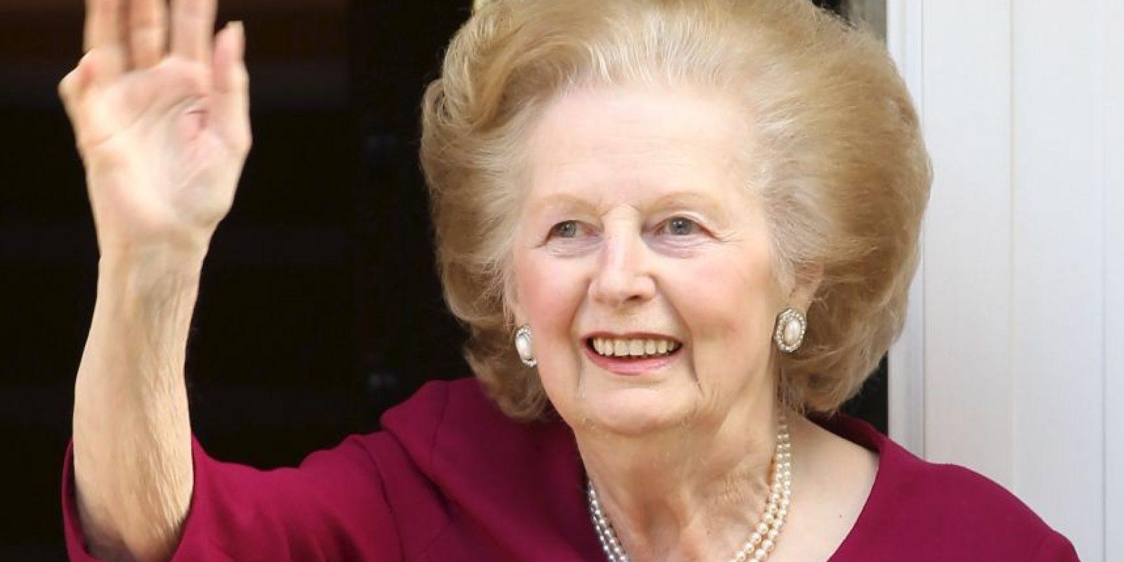 1. Margaret Thatcher (28 por ciento) Foto:Getty Images