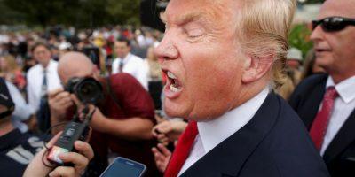 4. Clinton también supera a Trump con un 47% y él con un 41% del apoyo. Foto:Getty Images