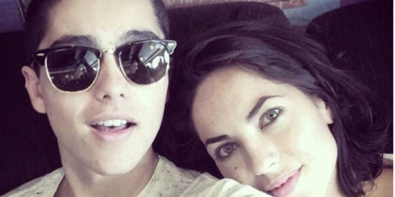 Sergio Mayer Mori tiene 17 años y es el fruto de la relación de la actriz con el empresario Sergio Mayer. Foto:vía Instagram/smayermori