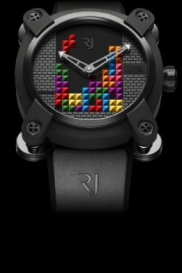 Versión Tetris DNA Foto:romainjerome.ch