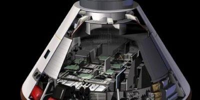 De acuerdo con la NASA, así será el módulo donde los astronautas podrán sobrevivir. Foto:nasa.gov