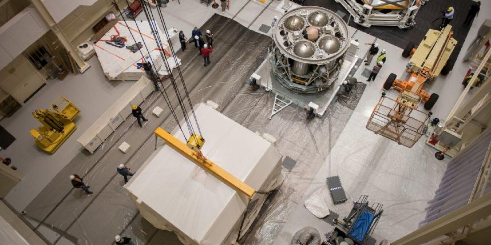 Los ingenieros quieren localizar cualquier error posible. Foto:nasa.gov