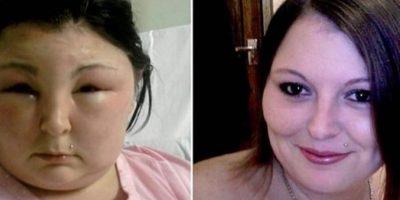 4. Carmen Rowe. Esta mujer de Reino Unido buscaba un cambio y se pintó el cabello. Foto:Tumblr