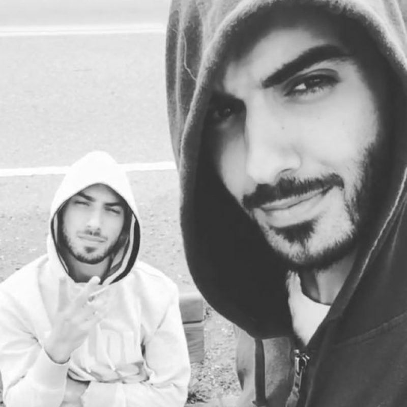Su parecido es innegable. Foto:Vía Instagram/@omarborkan