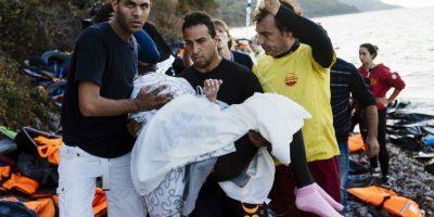 Muchos deciden poner en riesgo su vida con el objetivo de conseguir una vida mejor. Foto:AFP