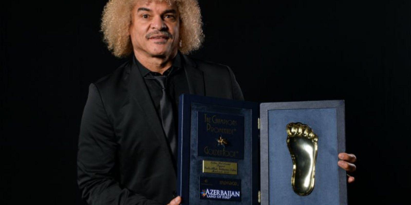 """Carlos """"El Pibe"""" Valderrama Foto:Getty Images"""