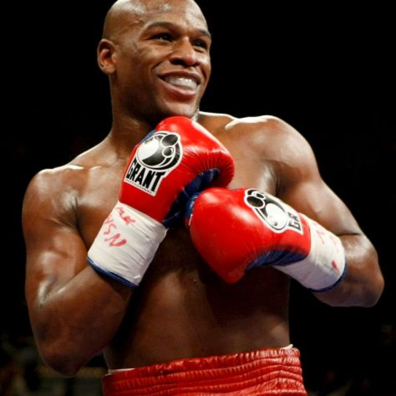 4. Floyd Mayweather Foto: Getty Images