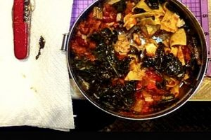 Navaja dentro de la comida Foto:Vía Instagram.com/tsa
